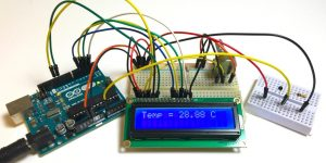 Arduino based thermometer