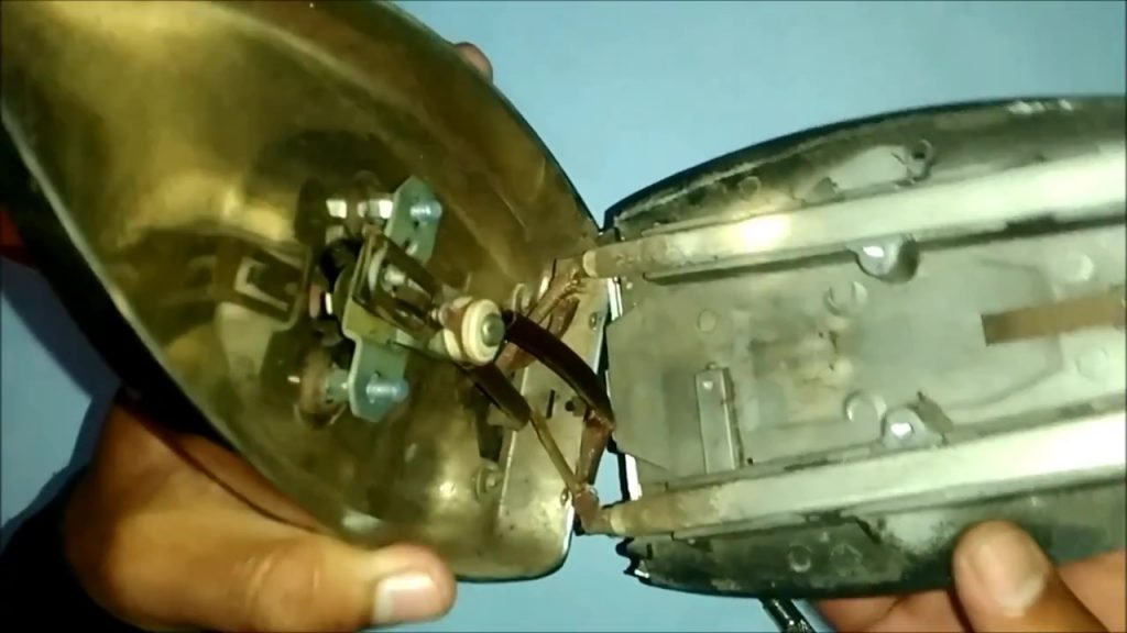 Inside view of an Electric Iron