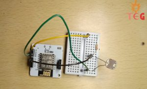 Circuit for Light Monitoring System