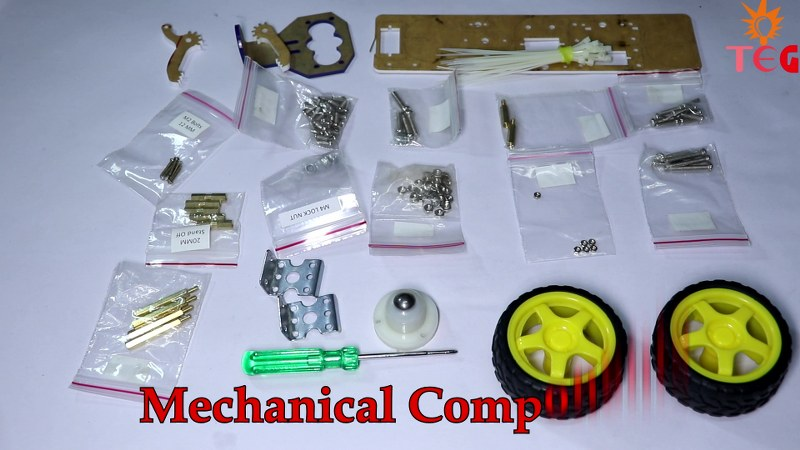 Mechanical Components in Evive Starter Kit
