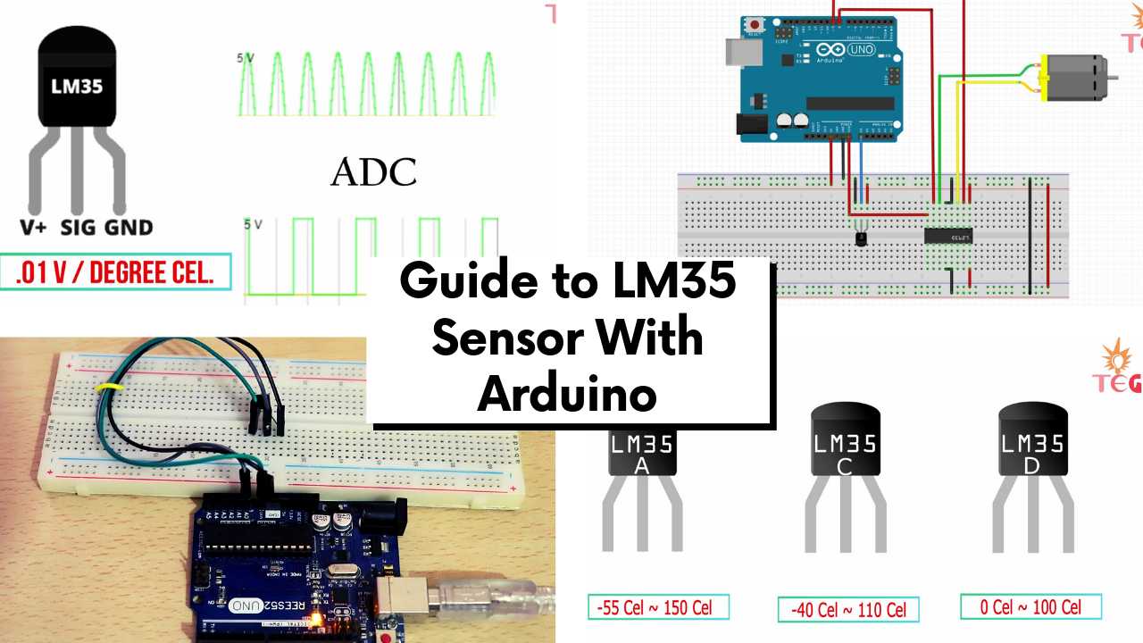 Guide to LM35 sensor wiTH Arduino