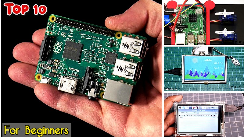 Top 10 Raspberry Pi projects for Beginners in 2020