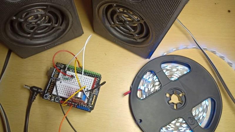 DIY MUSIC REACTIVE LED LIGHTS