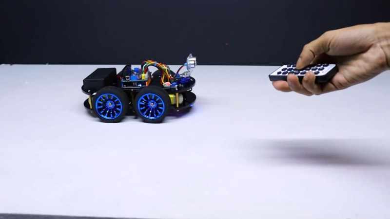All in one Arduino Robot