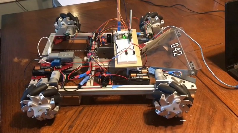 Flute controlled Robot car