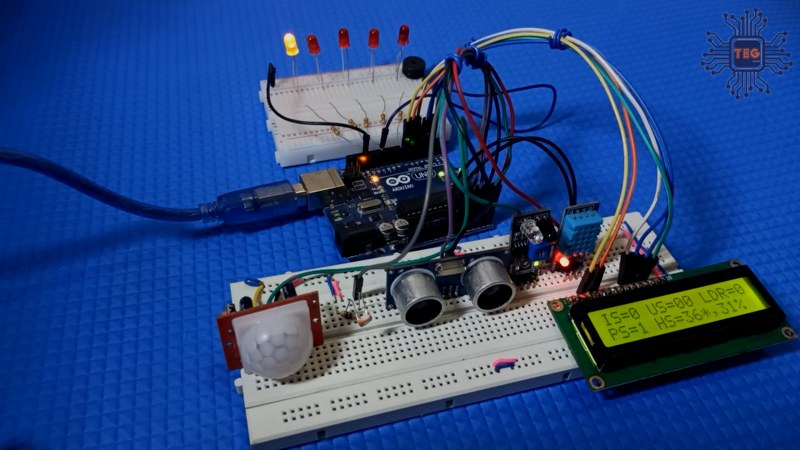 Multiple sensor project with Arduino