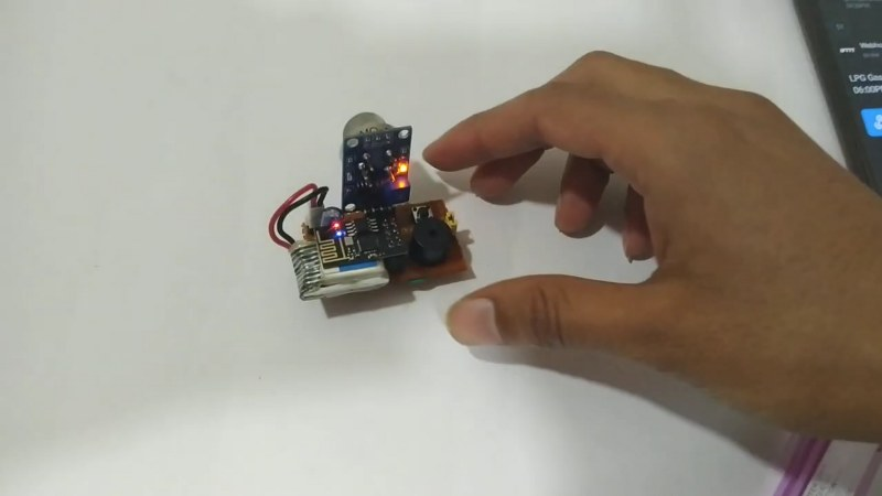 Gas Detector Project