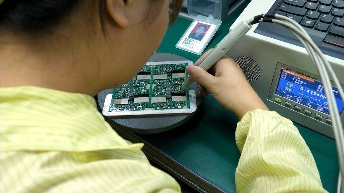 Manual Circuit board assembly