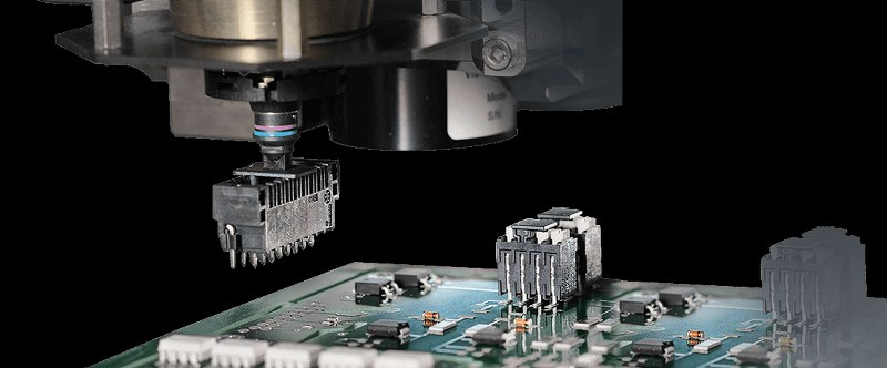 Pick-and-place PCB board assembly machine