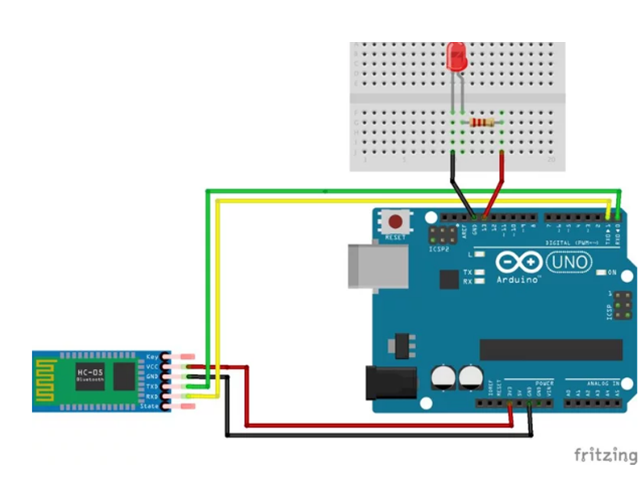 HC-05 connection with Arduino