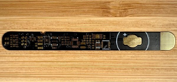 Fabricated PCB from PCBWay