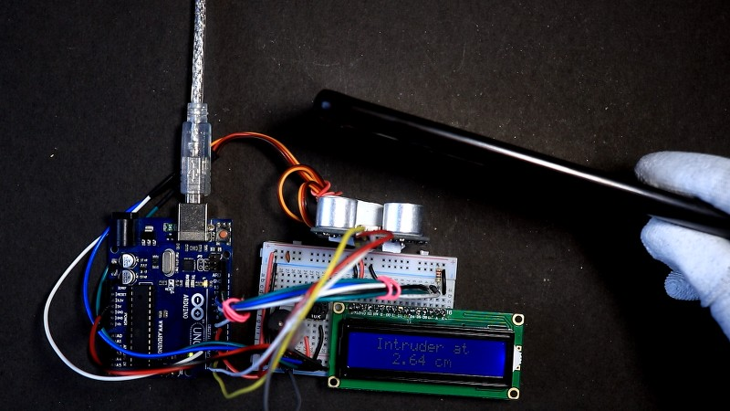 Security system_Area scanner Project