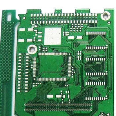 A PCB board with a surface finish of Immersion Tin