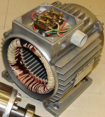 The Stator of an Induction motor