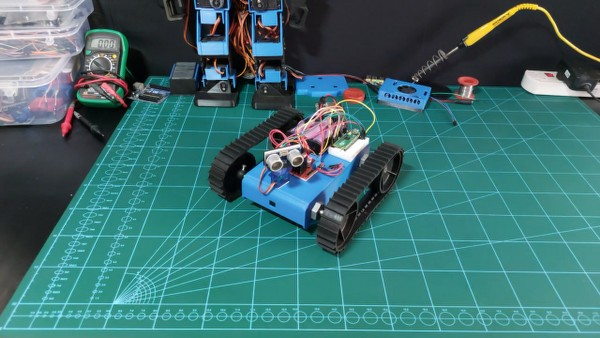 Raspberry pi pico projects: Obstacle avoiding robot