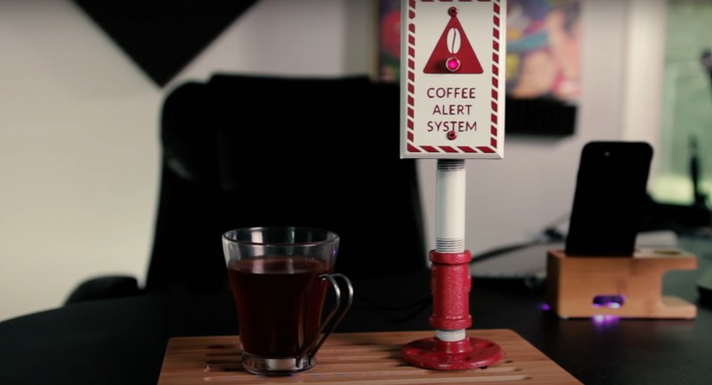 Coffee notification system