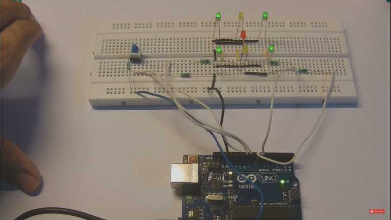 Electronic Dice using LEDs and Arduino