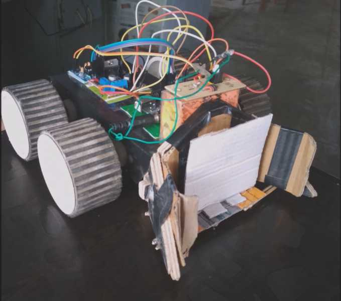 Mobile phone controlled robot car using Arduino